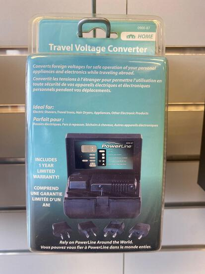 2 PowerLine Co Travel Voltage Converters