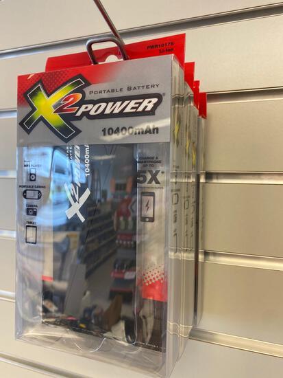 4 X2 Power Bank Portable Batteries