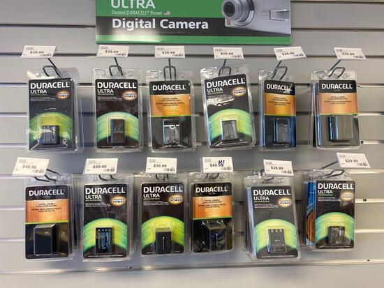 Approx 32 Assorted digital camera/camcorder batteries