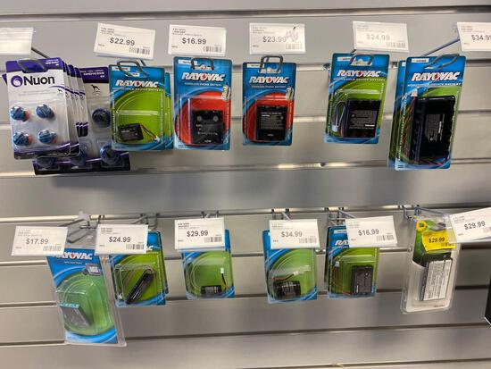Apprx 22 assorted pet fence batteries and other assorted packs