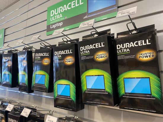 14 Duracell Rechargeable Laptop Batteries.