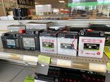 5 assorted 6 & 12v batteries.