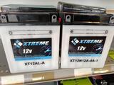 2 assorted 12v batteries