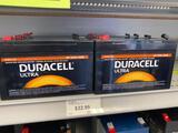 8 Duracell Ultra 6v 10ah agm batteries