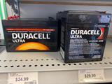 6 Duracell Ultra batteries