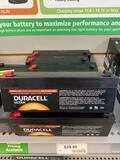 8 Duracell Ultra 12v 2.3Ah batteries