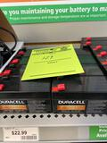 8 Duracell Ultra 12v 1.3Ah batteries