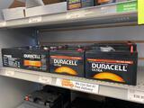 12 Duracell Ultra 12v assorted batteries