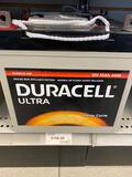 2 Duracell Ultra Deep Cycle 12v batteries