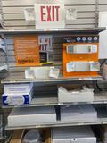 Large Lot of Assorted High End Exit and Security Fixtures