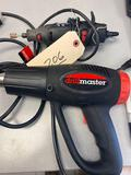 Heat Gun and Dremel Tool