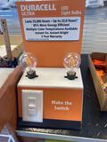 Duracell Ultra LED Lightbulb Display