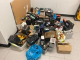 Large Pile of Scrap Batteries