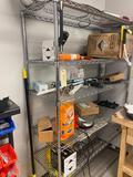 Shelf unit. No contents.