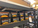 11 assorted Duracell Ultra batteries