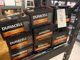 15 assorted Duracell Ultra batteries.
