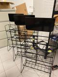 3- 3 tier store display racks