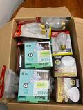 Lot of assorted bulbs