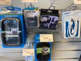 Dashboard phone holders and assorted units