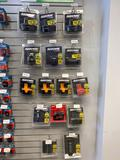 19 assorted cordless power tool batteries