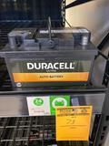Duracell Ultra 600 CCA Battery