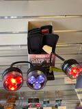 Group of Bendable Lights and Flashlight Holsters