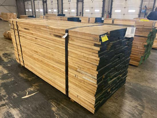 Approx 180pcs of Hard Maple, 5/4 thick.