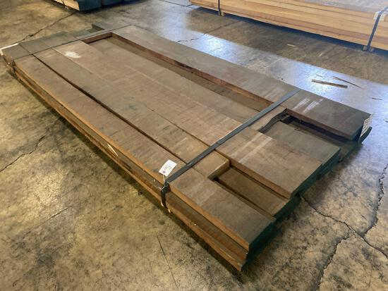 Approx 13 pcs of Prime Walnut Lumber, 6/4 thick