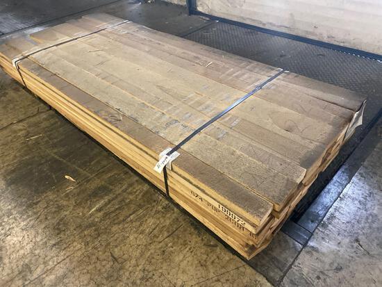 Approx 48 pcs of Kiln Dried Poplar Lumber, 6/4 thick