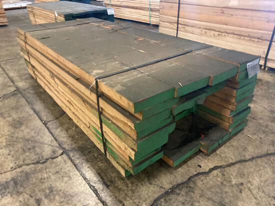 Approx 40 pcs of Prime Red Oak Lumber, 8/4 thick