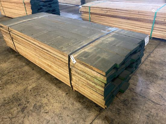 Approx 78 pcs of Prime Yellow Birch Lumber, 6/4 thick