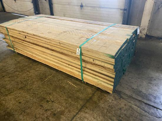 Approx 65 pcs of Prime Hickory Lumber, 6/4 thick
