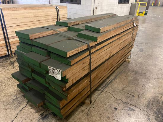 Approx 48 pcs of 8/4 thick Red Oak Prime Lumber