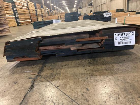 Approx 36 pcs of Prime Cherry Lumber, 4/4 thick