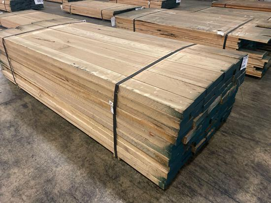 Approx 66 pcs of Hickory Lumber, 8/4 thick