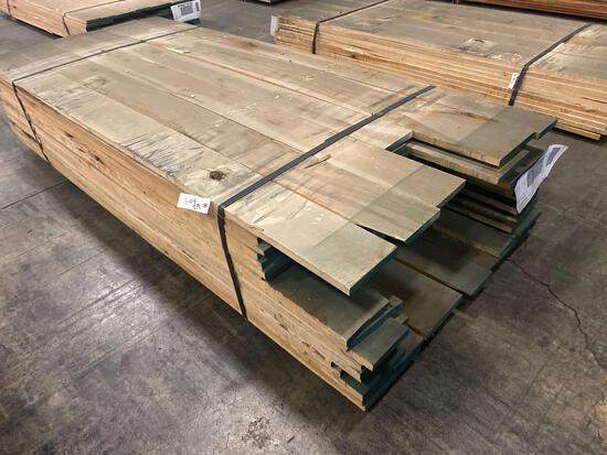 Approx 102 pcs of Maple Lumber, 4/4 thick