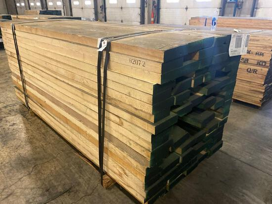 Approx 108 pcs of Ash Lumber, 8/4 thick.