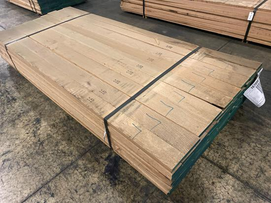 Approx 113 pcs of Oak Lumber, 4/4 thick