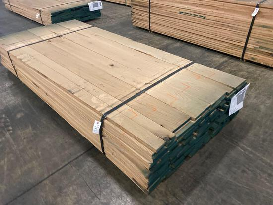 Approx 95 pcs of Oak Lumber, 4/4 thick