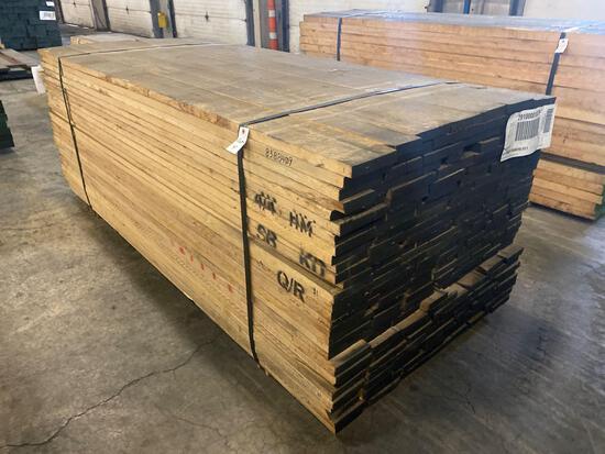 Approx 200 pcs of Hard Maple PrimerQ Kiln Dried Lumber, 4/4 thick