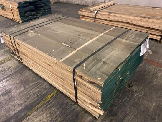 Approx 76 pcs of Poplar Lumber, 4/4 thick