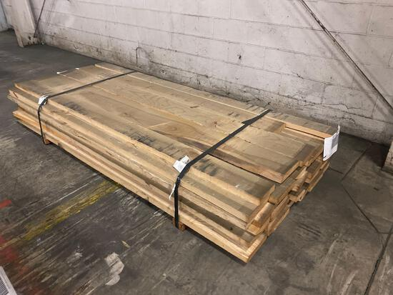 Approx 38 pcs of Ash Lumber, 6/4 thick
