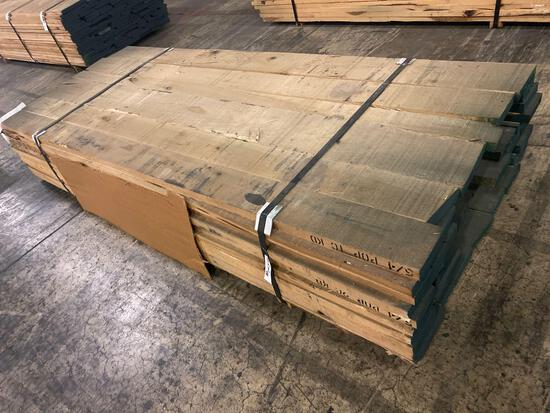 Approx 67 pcs of Poplar Lumber, 5/4 thick