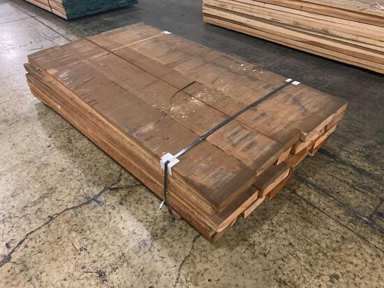 Approx 24 pcs of Cherry Lumber, 8/4 thick