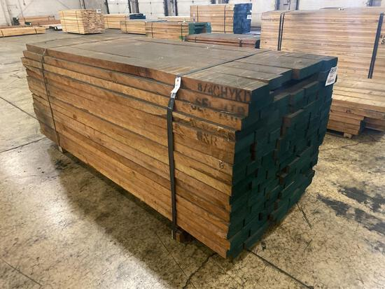 Approx 102 pcs of Cherry Prime Lumber, 8/4 thick
