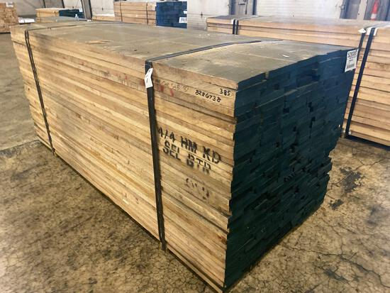 Approx 210 pcs of Hard Maple Prime Lumber, 4/4 thick