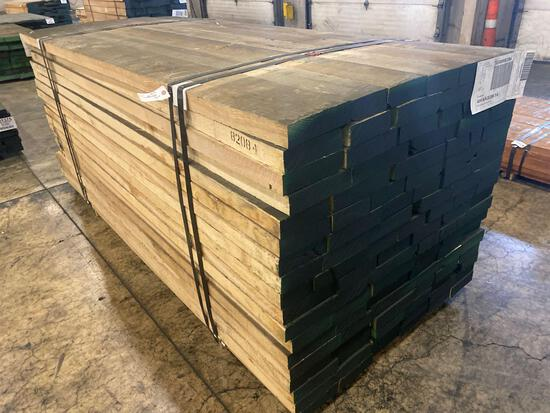 Approx 108 pcs of Ash Lumber, 8/4 thick