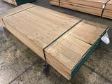 Approx 113 pcs of Oak Lumber, 4/4 thick
