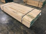 Approx 98 pcs of Soft Maple Lumber, 4/4 thick