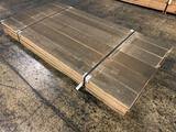 Approx 24 pcs of Prime Poplar Lumber, 6/4 thick